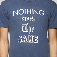FUN Artists Nothing Stays The Same Tee - Urban Outfitters