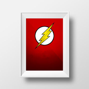 The Flash Poster, DC Comics, Movie Poster, TV Series
