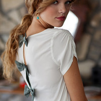 abbey court bow top - $36.99 : ShopRuche.com, Vintage Inspired Clothing, Affordable Clothes, Eco friendly Fashion