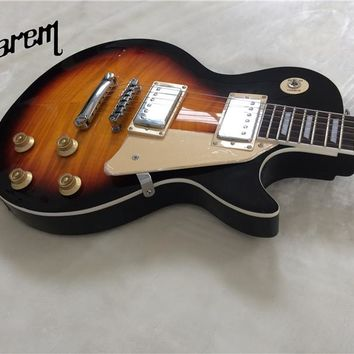 Electric guitar Gwarem lp standardslash/sunburst color/guitar in china