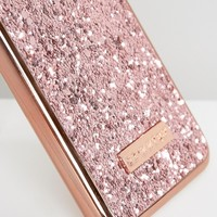 Skinnydip Rose Gold Dita iPhone 7 Case at asos.com