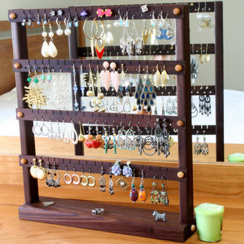 Earring Holder  Jewelry Organizer Stand by TomsEarringHolders