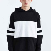 ZANEROBE Lineback Hooded Sweatshirt- Black