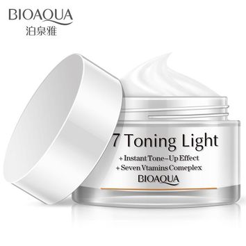 BIOAQUA cream instant tone up effect new face cream vitamins complex repair face Remover Care day creams moisturizers face care