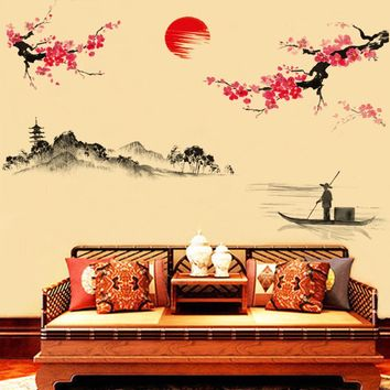 wall stickers home decor Home Decor Mural Decal wall decals