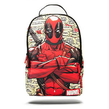 Marvel Deadpool Blurbs Backpack