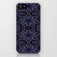 Blue Etch iPhone & iPod Case by 2sweet4words Designs
