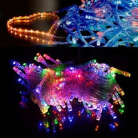 10M 100 LED Colorful Lights Decorative Christmas Party Festival Twinkle String Lamp Bulb 110V US FT [8384176967]