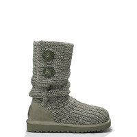 UGG® Kids' Classic Cardy | Children's Tall Crochet Knit Boots at UGGAustralia.com