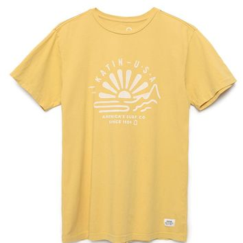 Katin Beams T-Shirt - Mens Tee - Gold