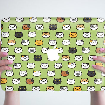 Neko Cats MacBook Pro Retina 13 15 Hard Case Neko Atsume Case MacBook Air 13 Hard Case MacBook 12 Case MacBook Air 11 Hard Plastic Cover