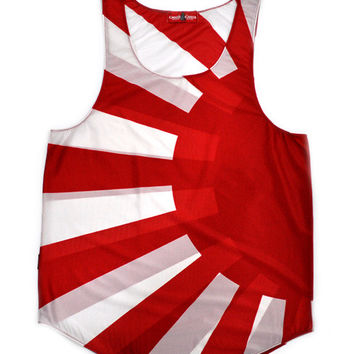 "Japan ""Rising Sun Naval Ensign"" Flag Tank Top"