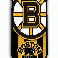 iPhone 6S Plus Case - Hard (PC) Cover with Boston Bruins Hockey Plastic Case Design