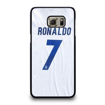 RONALDO CR7 JERSEY REAL MADRID Samsung Galaxy S6 Edge Plus Case Cover