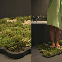 Moss carpet for your bathroom | Veerle's blog 3.0
