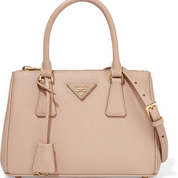 Prada - Galleria small textured-leather tote
