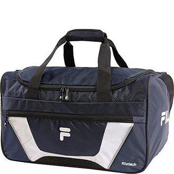 Fila Cannon 3 Small Duffel Sports Gym Bag, Navy, One Size