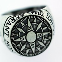 Digby & Iona: Compass Signet Ring