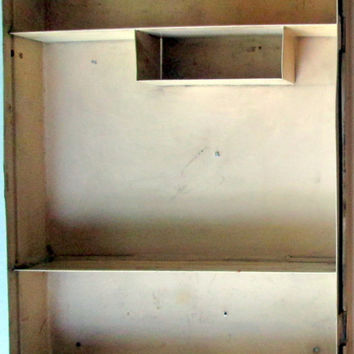 Metal First Aid Cabinet by Bauer & Black U..S.A. Made Vintage