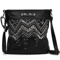 Miss Me Southwestern Crossbody Purse
