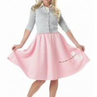 California Costumes Women's Poodle Skirt Costume
