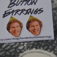 Heartthrob Earrings - Elf (Will Ferrell)