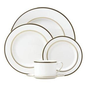 kate spade new york Library Lane Black™ Dinnerware Collection