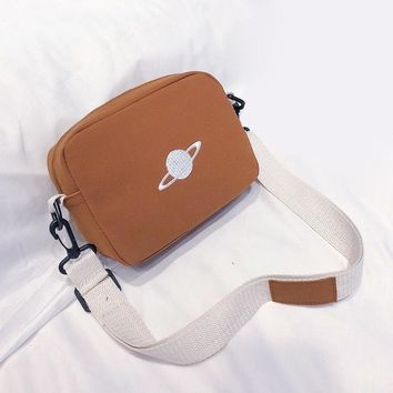Planet Crossbody Messenger Bag