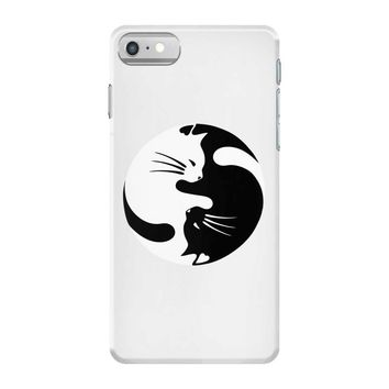 yin yang cat iPhone 7 Case