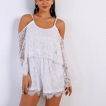 A Very Sybil Lace Playsuit