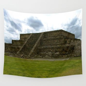 Mexican Ruin Wall Tapestry by Lindsey Jennings Photography