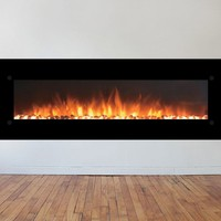 OnyxXL Wall Mount Electric Fireplace