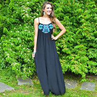 Dancing Wind Maxi Dress