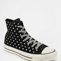 Converse Chuck Taylor All Star Polka Dot Suede Women's High-Top Sneaker - Urban Outfitters