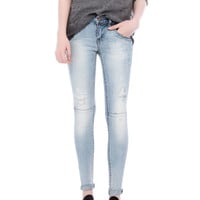 RIPPED SKINNY FIT JEANS - NEW PRODUCTS - WOMAN -  PULL&BEAR United Kingdom