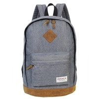 Waterproof Canvas Laptop Backpack for Middle High School College