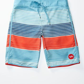 RVCA Sunday Stripe Boardshorts - Mens Board Shorts - Blue