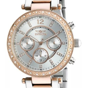 Invicta Women's 20471 Angel Two Tone Rose Gold & Stainless Steel