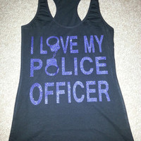 Police Wife Tank