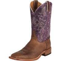 Men's Bent Rail Hazel Brown Cowboy Boots