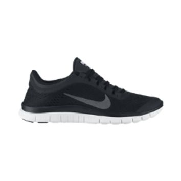 Nike Free 3.0 Women's Running Shoes - Black