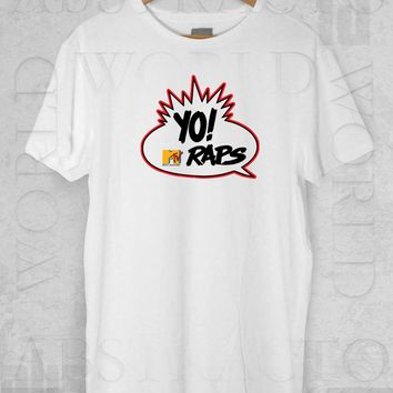 Yo Raps Old School MTV Hip Hop Adult Unisex T Shirt