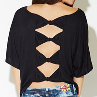 Bow Back Tee | Wet Seal