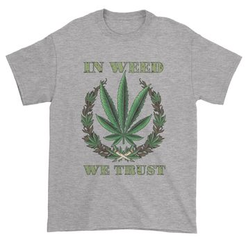 In Weed We Trust Mens T-shirt