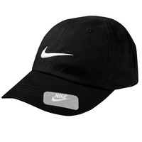 Nike Swoosh Baseball Cap - Infant (Black)