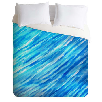 Rosie Brown They Call It The Blues Duvet Cover