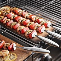 Stainless-Steel Sliding Skewers