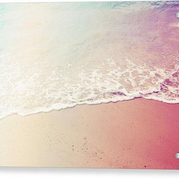 Ocean Air, Salty Hair, Watercolor Art By Adam Asar - Asar Studios - Acrylic Print