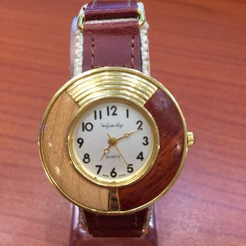 Women Watch With Metal
