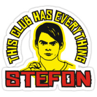 "Stefon ""from S.N.L."" by BUB THE ZOMBIE"